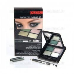 4Eyes Smoky Eyes Emerald Kit Multiplay Pupa n°29 Emeraude - Kit 2 produits