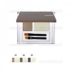 Eyebrow set (poudre colorée + cire fixante) 501 Pupa
