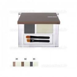 Eyebrow set (poudre colorée + cire fixante) 503 Pupa