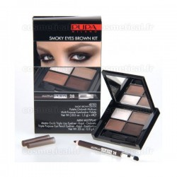 4Eyes Smoky Eyes Brown Kit Multiplay Pupa n°28 Brun - Kit 2 produits