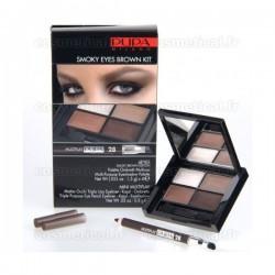 4Eyes Smoky Eyes Brown Kit Multiplay Pupa n°28 Brun - Kit 2 produits