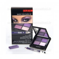 4Eyes Smoky Eyes Purple Kit Multiplay Pupa n°05 Purple - Kit 2 produits