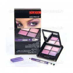 4Eyes Miss Pink Kit Multiplay Pupa n°31 Rose - Kit 2 produits