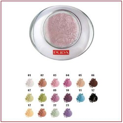 LUMINYS BAKED EYESHADOW - Compact Eye Shadow Mono Delicious Pink 03 Pupa