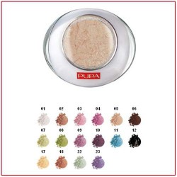 LUMINYS BAKED EYESHADOW - Compact Eye Shadow Mono Golden White 05 Pupa