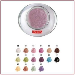 LUMINYS BAKED EYESHADOW - Compact Eye Shadow Mono Pretty Lilac 09 Pupa