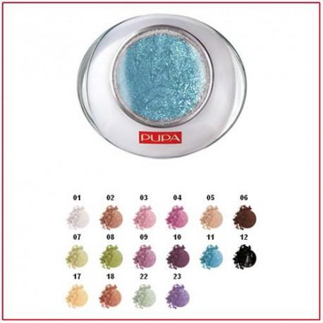 LUMINYS BAKED EYESHADOW - Compact Eye Shadow Mono Starring Blue 11 Pupa